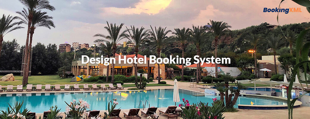 Design Hotel Booking System
